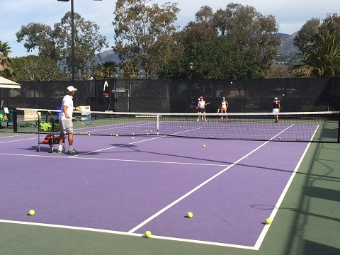 Adult and Family Programs at Santa Barbara School of Tennis at Hilton Santa Barbara Beachfront Resort