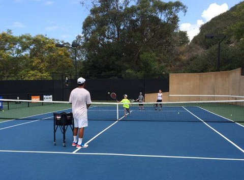 Summer Camps with Santa Barbara School of Tennis at Hilton Santa Barbara Beachfront Resort