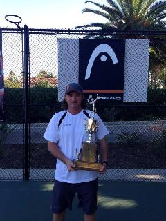 Dimitar Yazadzhiev - HEAD/Penn Racquet Sports Advisory Pro of the Year
